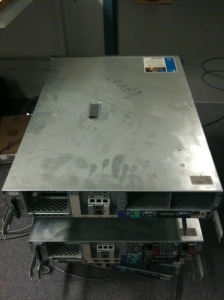 Damage done to server after Fire Extinguishing Aerosol