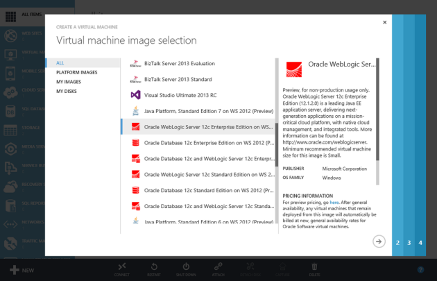 Oracle-images-azure